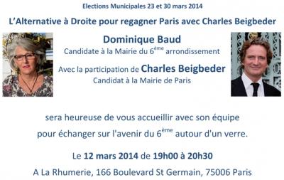 dominique baud,paris 06,municipales 2014,paris libéré,charles beigbeder,réunion publique